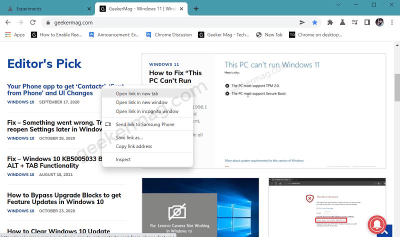windows 11 style menu